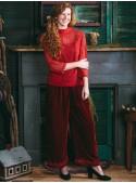 Duchess Pant in Scarlet Red | April Cornell - SOLD OUT