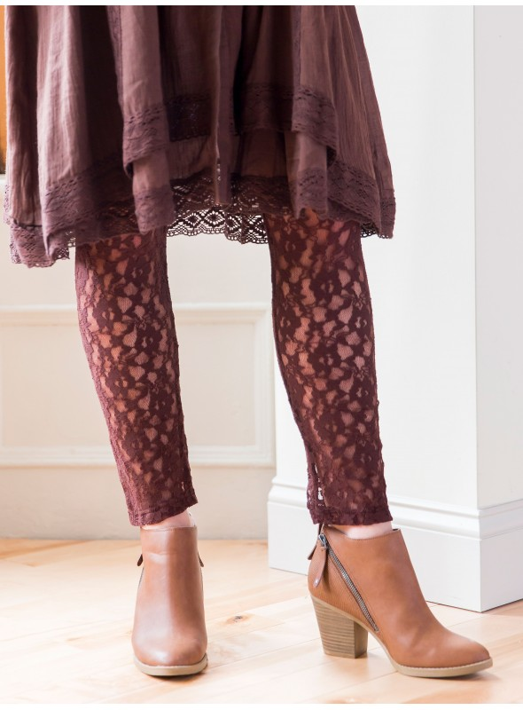 Pip Leggings in Chocolate by April Cornell