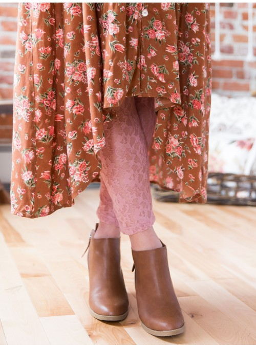 Pip Leggings in Rose by April Cornell