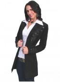 Balanchine Coat in Black