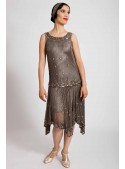 Myrna Dress in Grey - SOLD OUT