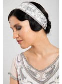Cosette Headpiece in White - SOLD OUT