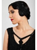 Gloria Headpiece in Black - SOLD OUT