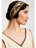 Barrymore Headpiece in Creme - SOLD OUT