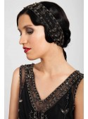 Marlene Headpiece in Black - SOLD OUT