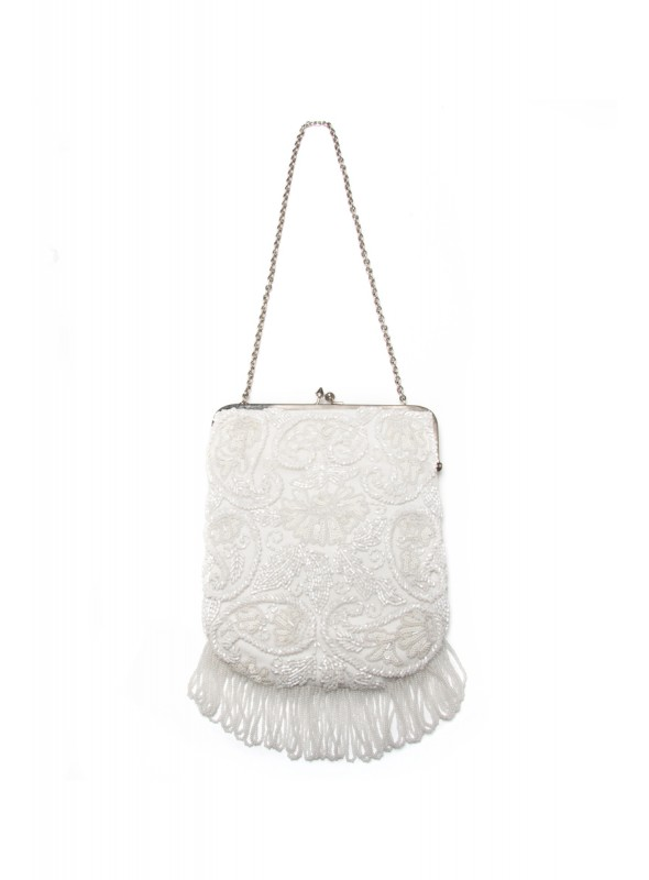 Essie Handbag in Ivory by Tilda Knopf