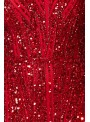Romy Gatsby Style Gown in Red