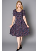 Paisley Dress in Navy - SOLD OUT