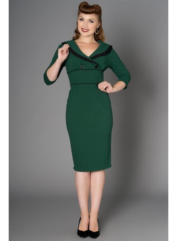 Bettie Dress in Green by Sheen Clothing