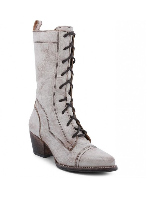Baisley Modern Vintage Boots in Nectar Lux by Oak Tree Farms