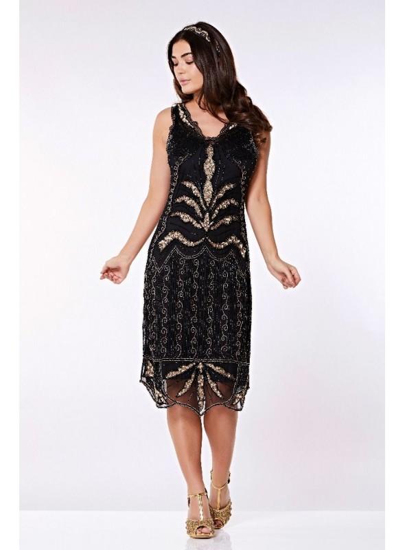 Chandelier Dress in Black