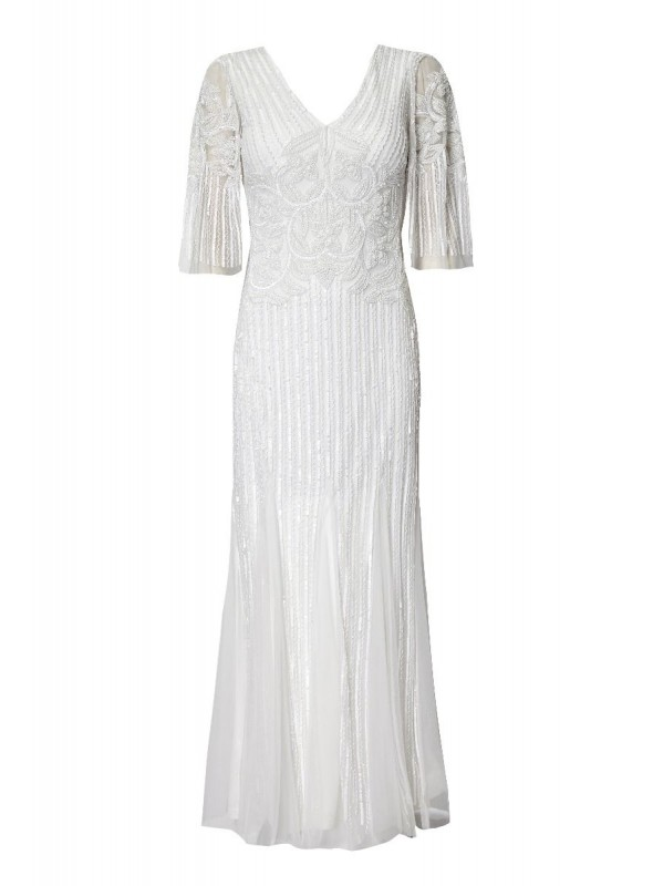 Galina Gown in White