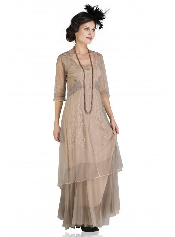 Kate Flapper Dress in White
