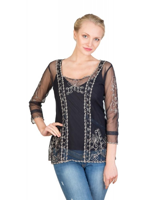 CT-221 Top in Black