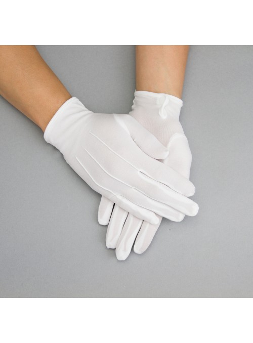 Penelope Gloves in White
