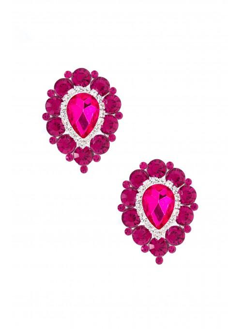 Savoir Vintage Earrings in Red