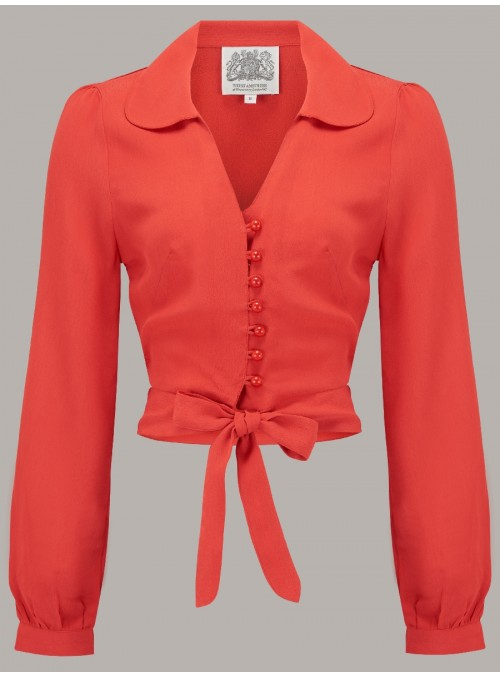 Margaret Blouse in Red