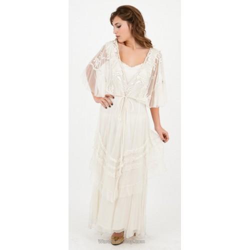 River Fairy Wedding Dress in Ivory by Nataya