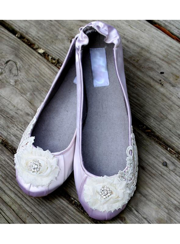 "Edwardian inspired ballet flats, Model ""Odette"" - SOLD OUT"
