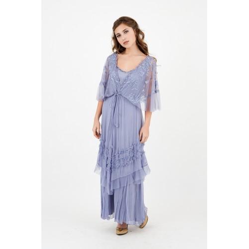 River Fairy Wedding Dress in Lilac by Nataya
