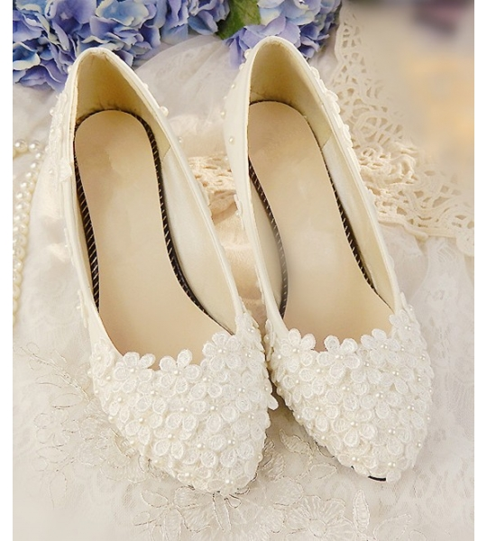 Daisy Raised Vintage Style Shoes - CM_L084