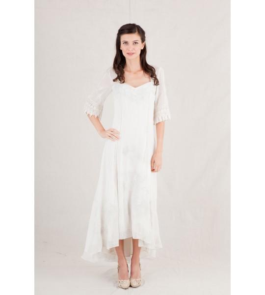 Nataya Spring Ivory Dress - 40189
