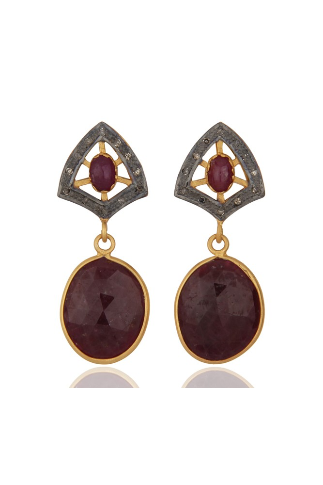 94cb2fde1ca0 Burgundy Wine Vintage Style Earrings - SOLD OUT