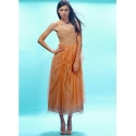 Rose Water Party Dress in Coral by Nataya