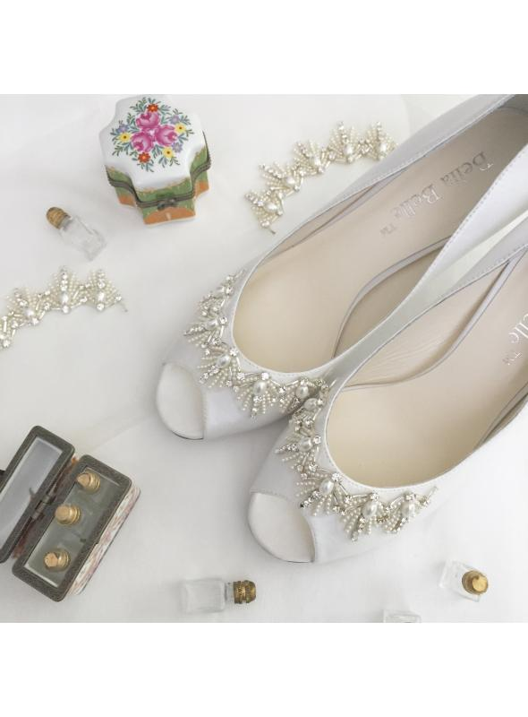 Great Gatsby Glamourous Bridal Shoes Agnes