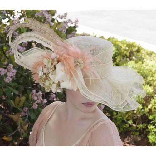 Lady Lisa Hat by Louisa Voisine Millinery
