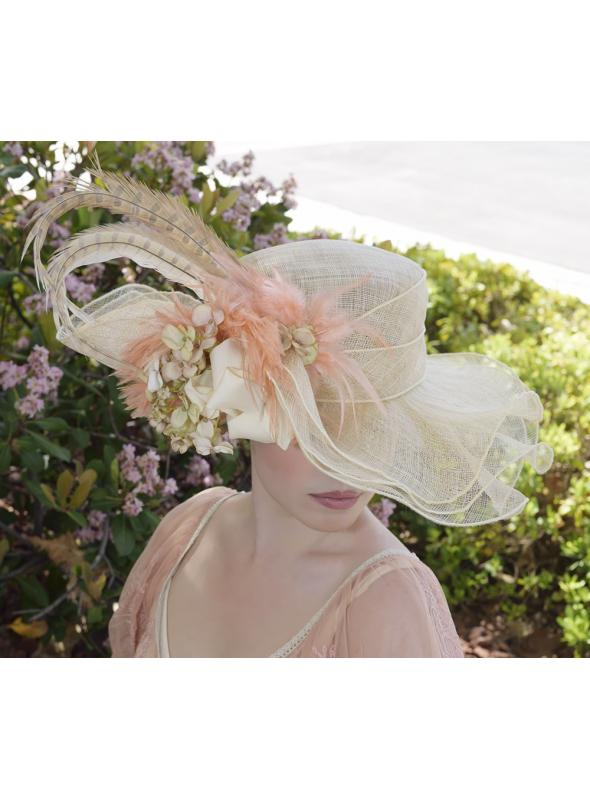 Lady Lisa Hat by Louisa Voisine Millinery