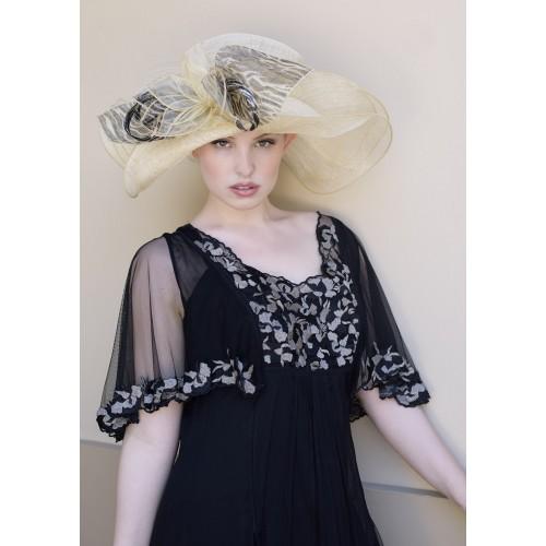 Lady Linda Hat by Louisa Voisine Millinery