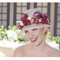 Vintage Rosette Cloche by Louisa Voisine Millinery - SOLD OUT