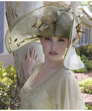 Butterfly Dreams Hat by Louisa Voisine Millinery