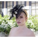 Lady Greta Fascinator by Louisa Voisine Millinery - SOLD OUT