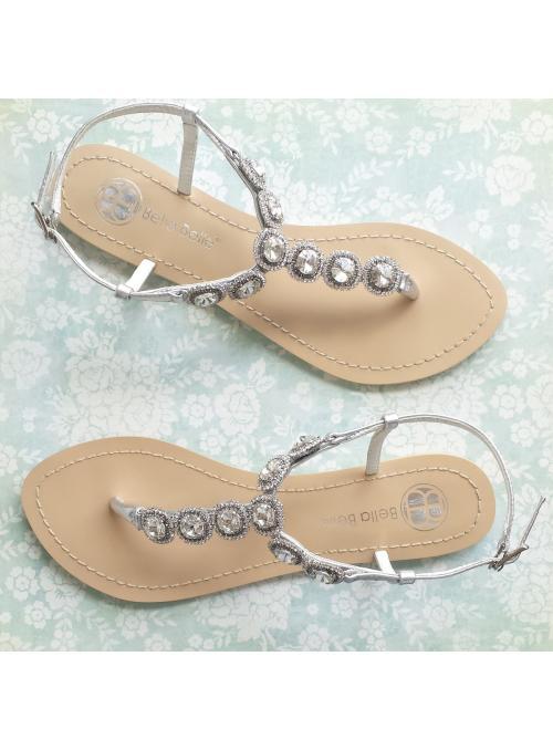 Helia Bridal Sandals
