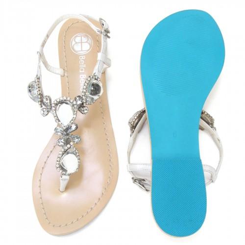 Jewel Bridal Sandals