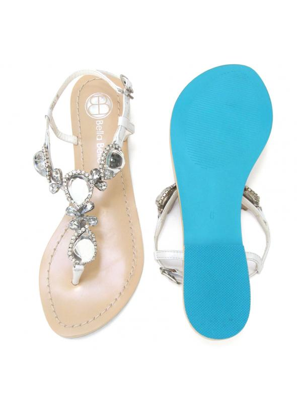 Jewel Bridal Sandals