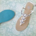 Sidney Bridal Sandals - SOLD OUT
