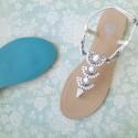 Sidney Bridal Sandals