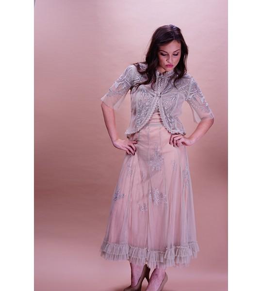 Romantic Elizabethan Vintage Style Jacket in Antique by Nataya