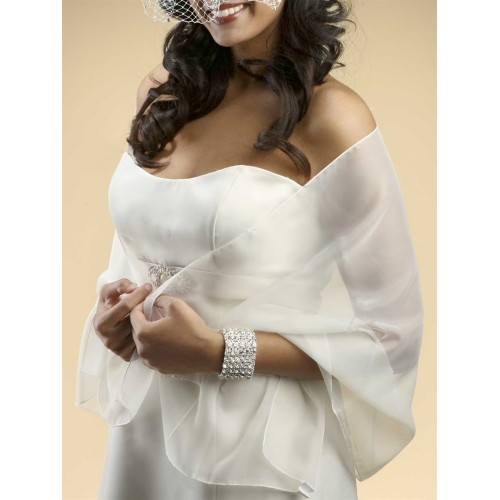 Best Selling Chiffon Wrap for Weddings or Events