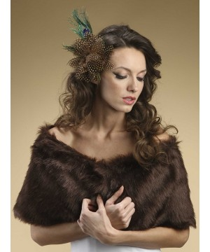Faux Fur Mink Bridal Wrap