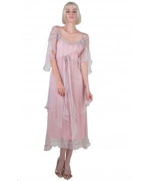 Othelia Off-Shoulder Summer Party Dress in Rose by Nataya