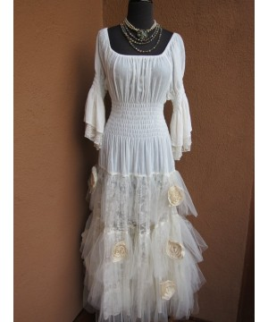 Rodeo Cinderella Wedding Dress by Marrika Nakk