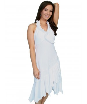 Prairie Cotton Wedding Dress in White by Scully Leather