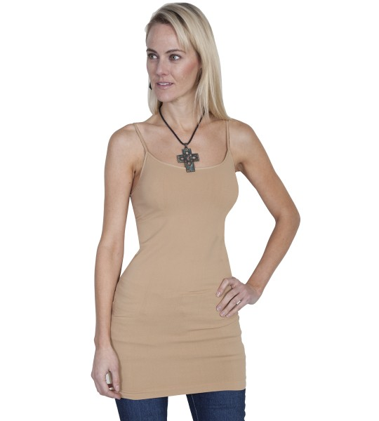 Honey Creek Spring Star Seamless Slip in Beige by Scully Leather