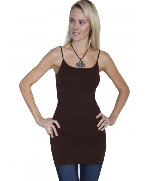 Honey Creek Spring Star Seamless Slip in Chocolate by Scully Leather