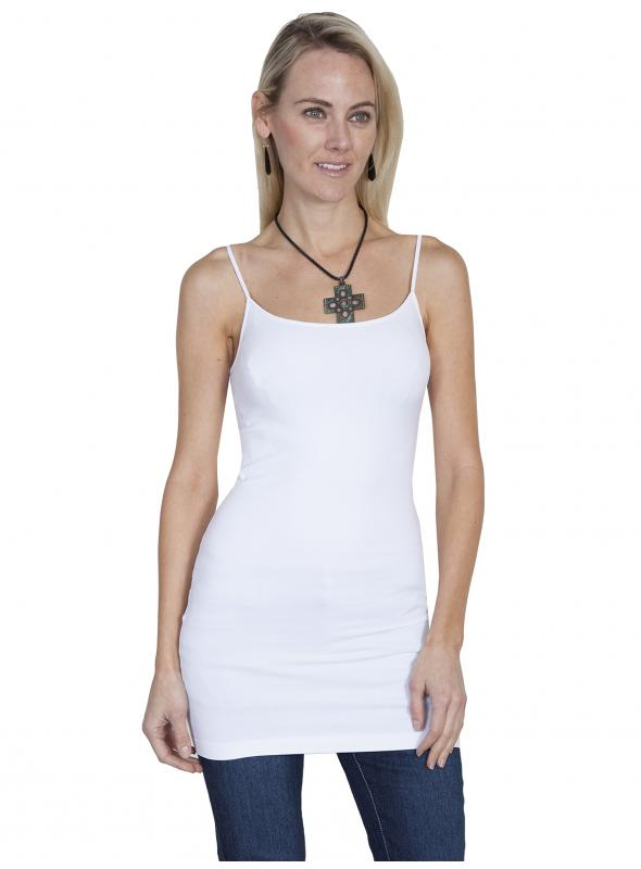Honey Creek Spring Star Seamless Slip in White by Scully Leather
