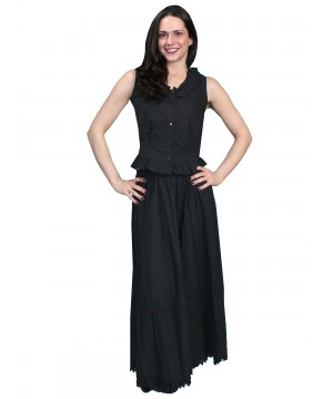 Rangewear Victorian Style Petticoat in Black by Scully Leather